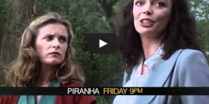 70's film trailer voice: Piranha