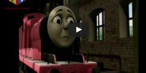 Sir Topham Hatt and James in Thomas & Friends (US)