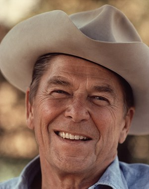 Ronald Reagan in DEATH VALLEY DAYS BBC Radio 4 - Kerry Shale